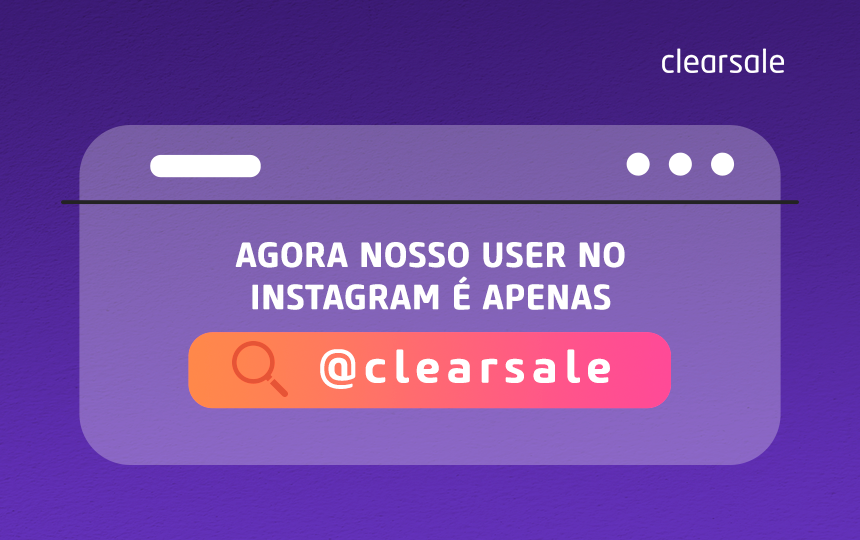 clearsale; instagram