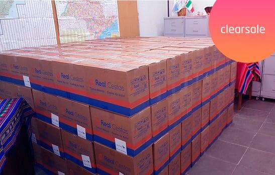 cestas básicas, doação