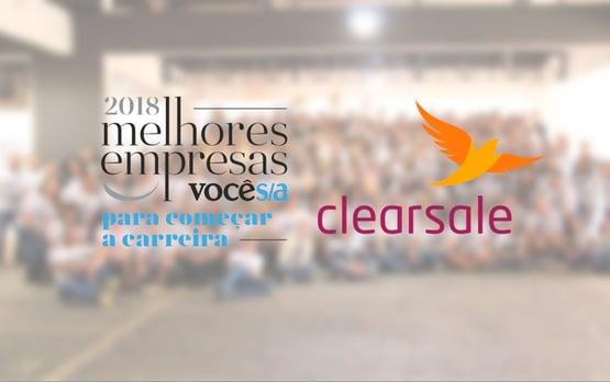 ClearSale está entre as melhores empresas para iniciar a carreira