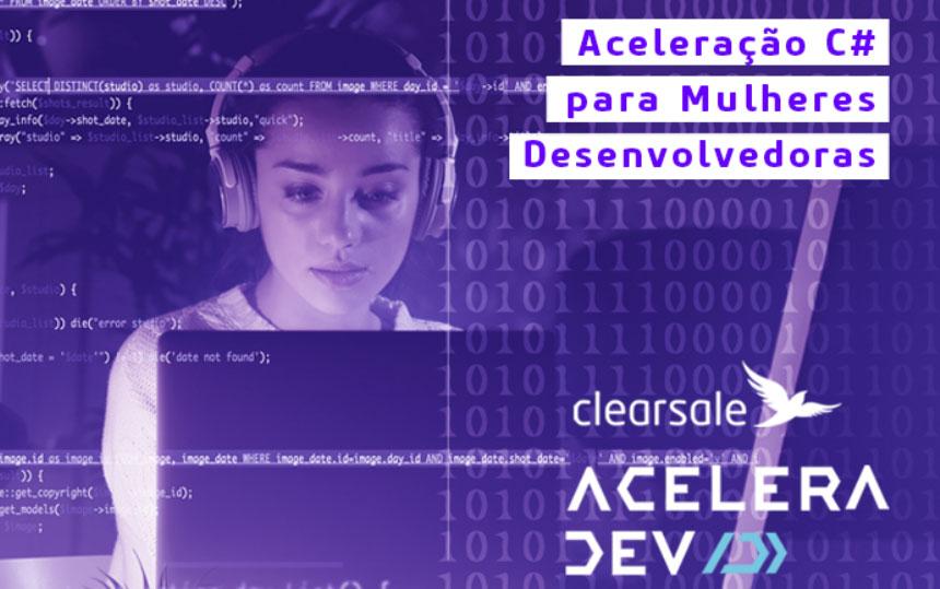 ClearSale lança treinamento gratuito para mulheres de TI