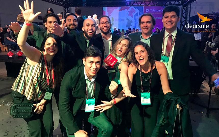 ClearSale conquista mais um prêmio GPTW em 2018