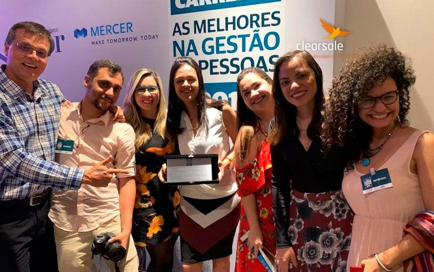 ClearSale é reconhecida em noite de premiação da revista Valor Carreira